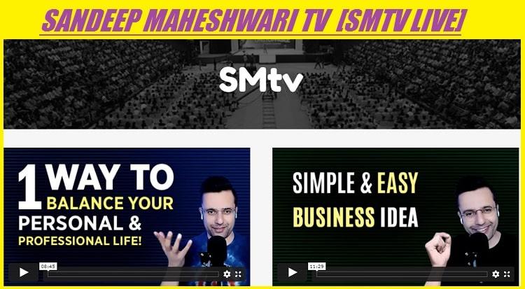 Sandeep Maheshwari TV SMtv Live www.sandeepmaheshwari.tv